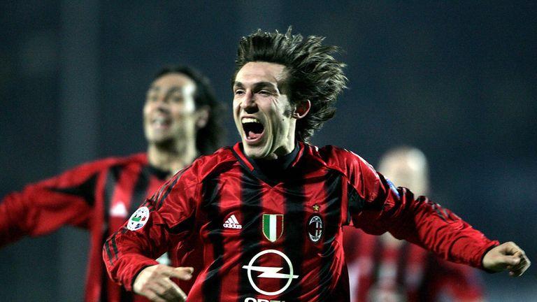 Pirlo spent 10 years at AC Milan before moving to Juventus