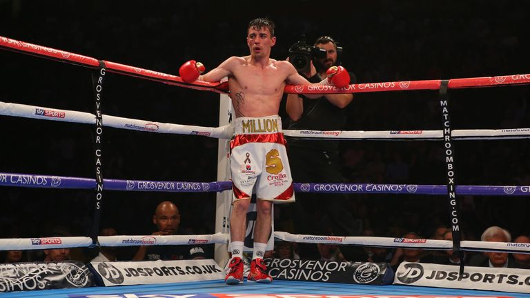 Fellow lightweight Anthony Crolla came agonisingly close to winning the WBA belt