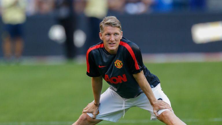 Bastian Schweinsteiger: The German will not be playing against Barcelona.