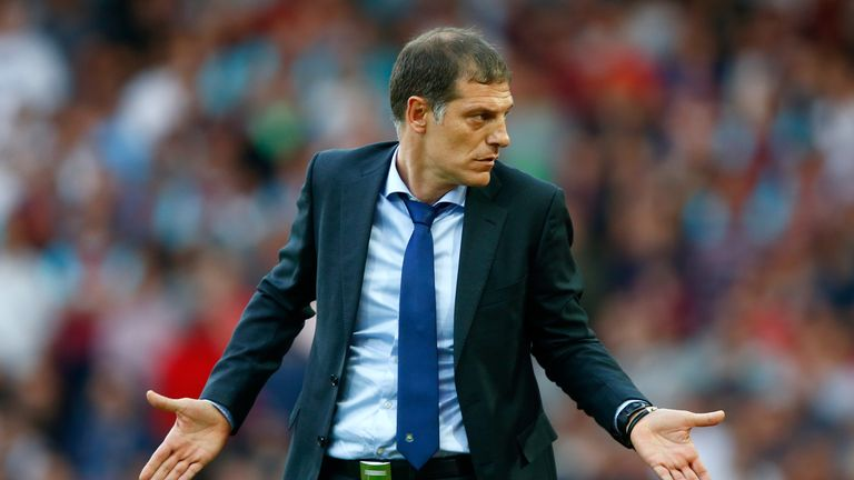 Slaven Bilic made 11 changes to the first eleven from last week