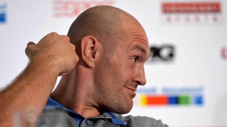 Fury praised Klitschko as 'a great champion'
