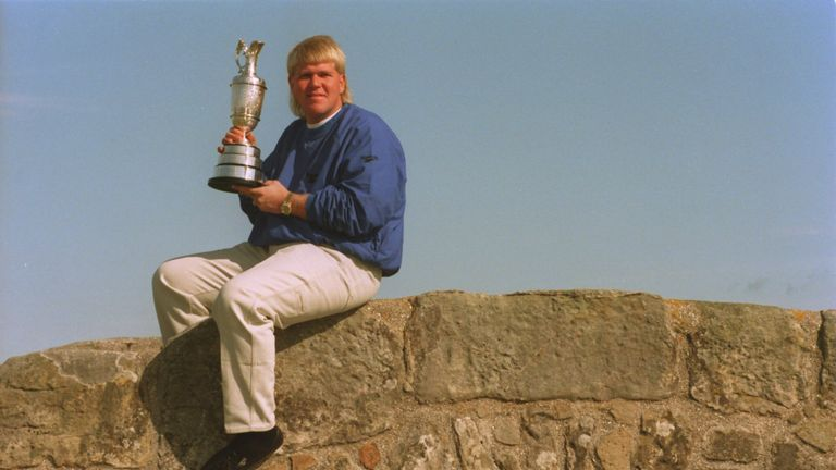 John Daly was crowned the 1995 Open champion