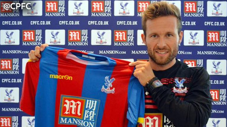 Crystal Palace sign Yohan Cabaye from PSG for an undisclosed fee, believed to be a new Palace record.