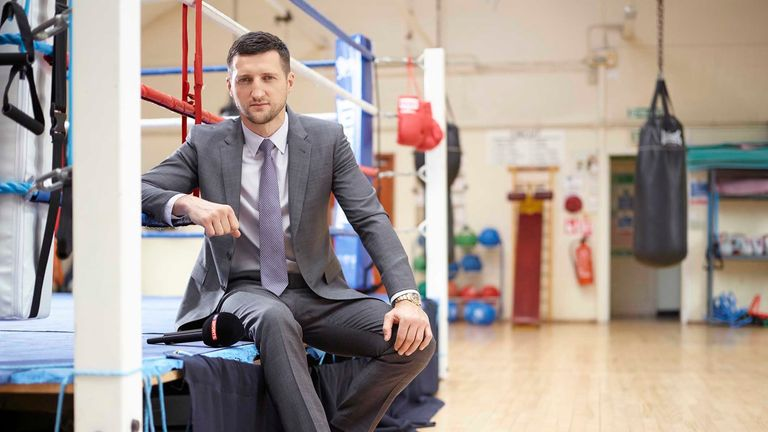 Carl Froch wasn't sure he was going to retire until hours before the announcement