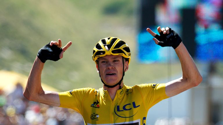 1caef77db Chris Froome is one of the heavy hitters when it comes to cycling s salary  league