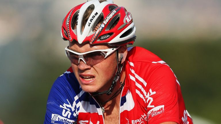 Froome represented Great Britain at the 2009 world championships