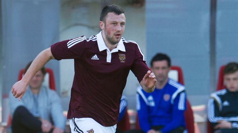Dale Carrick: Striker is searching for a new club after leaving Hearts