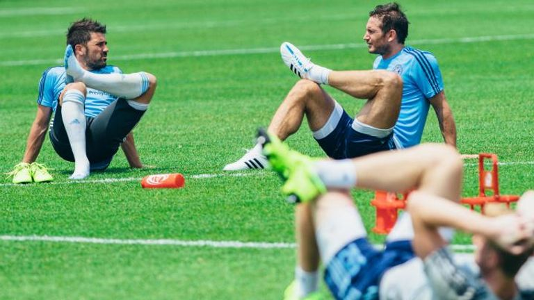 Frank Lampard is expected to continue his goal record in MLS
