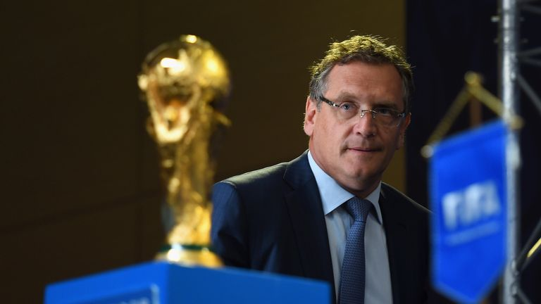 FIFA general secretary Jerome Valcke admits the corruption scandal is deterring World Cup sponsors