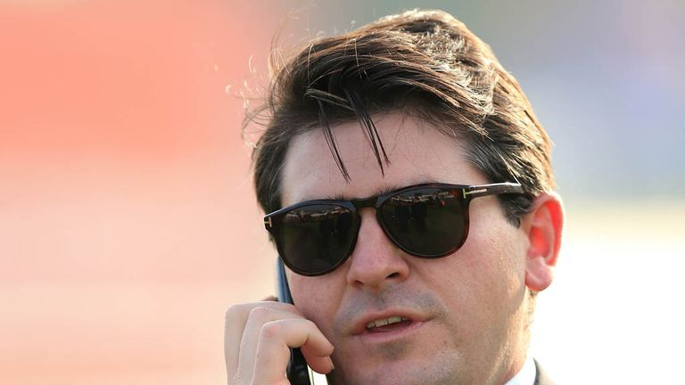 File photo dated 11-09-2014 of Hugo Palmer, Trainer