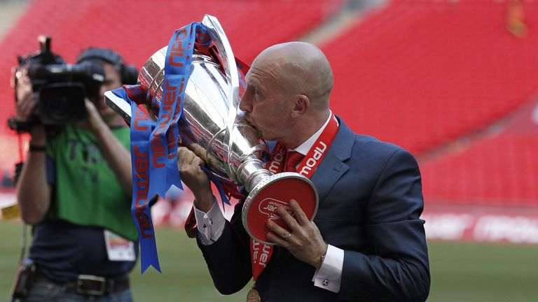 Holloway secured promotion via Wembley again in 2013, when his Crystal Palace side beat Watford in 2013