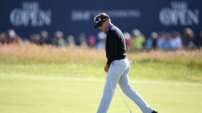 Poulter's missed the cut in his past two tournaments
