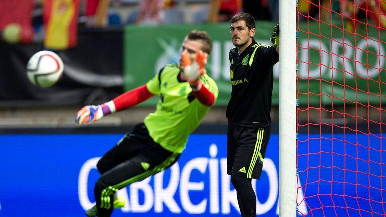Iker Casillas and David de Gea