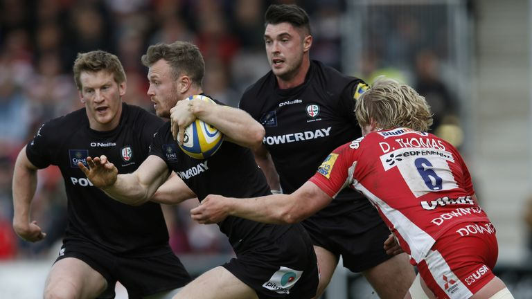 Exeter new boy James Short won the Premiership title with Saracens before joining London Irish