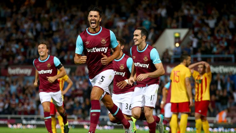 West Ham were the last Premier League club to be granted a place into the Europa League courtesy of Fair Play in 2015/16