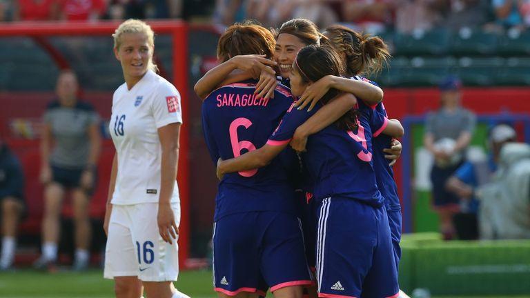 Japan goal celeb, Laura Bassett own goal, England, Katie Chapman, Women's World Cup semi-final, Edmonton
