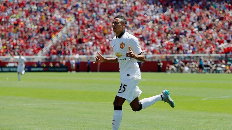 Jesse Lingard put Manchester United 2-0 in front