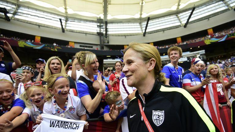 USA head coach Jill Ellis