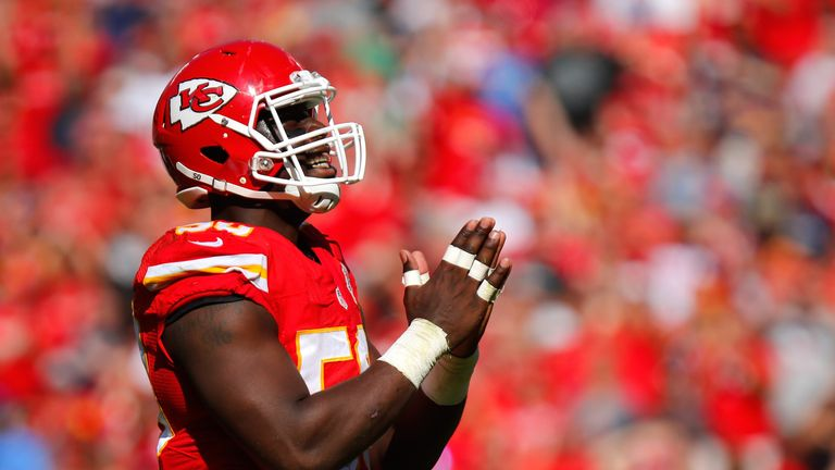 Justin Houston is one of a number of edge-rush threats the Chiefs have