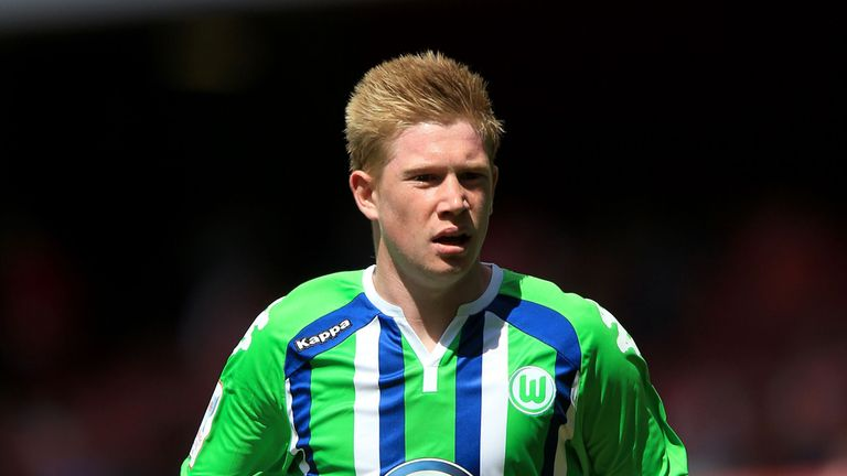 Wolfsburg's Kevin De Bruyne during the Emirates Cup at The Emirates Stadium, London. PRESS ASSOCIATION Photo. Picture date: Saturday July 25, 2015. See PA