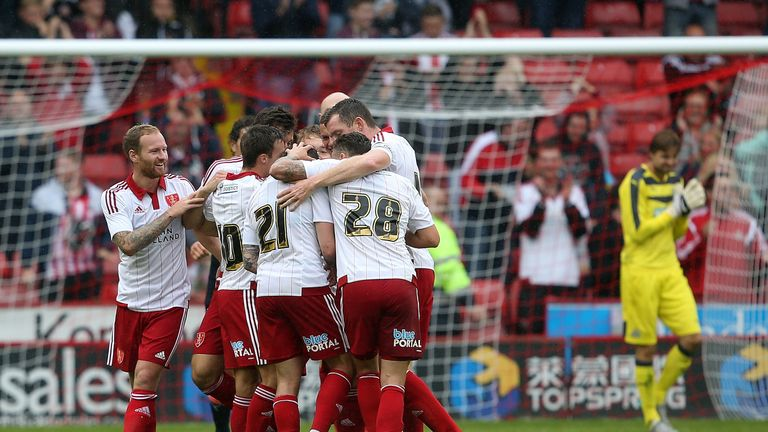 Sheffield United are Sky Bet favourites to win promotion from League One
