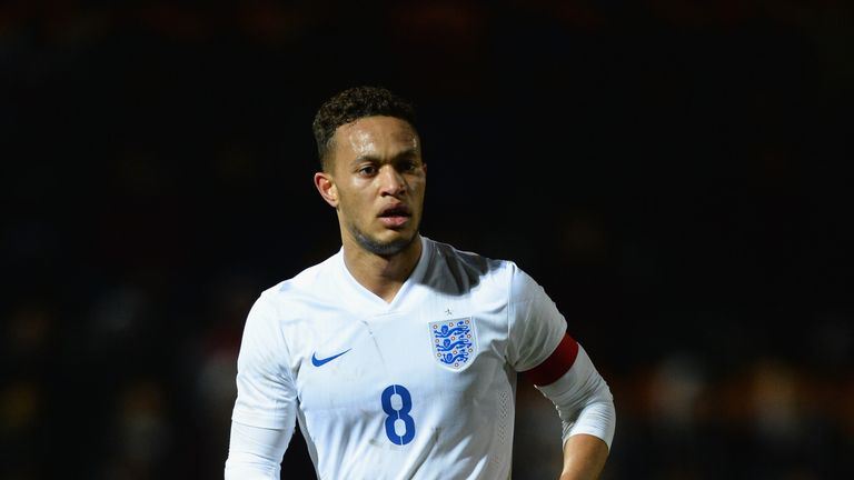 Midfielder Lewis Baker has captained England U20s