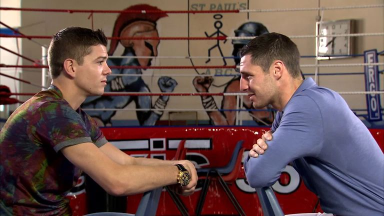 Luke Campbell (left) tops the bill against Hull rival Tommy Coyle