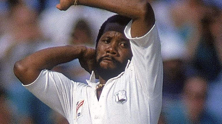 Malcolm Marshall took 376 wickets in 81 Tests for West Indies