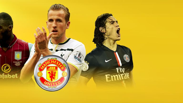 Christian Benteke, Harry Kane and Edinson Cavani could all be targets for United this summer.