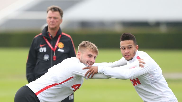 Shaw trained over the summer to improve his fitness