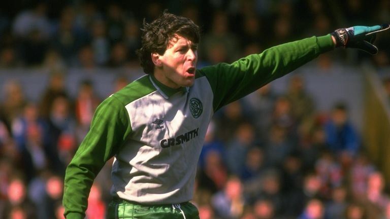 Pat Bonner made 641 appearances for Celtic. nn