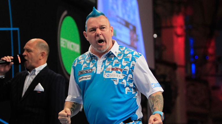 Peter Wright: The Scot beat Benito van de Pas to win Players Championship title