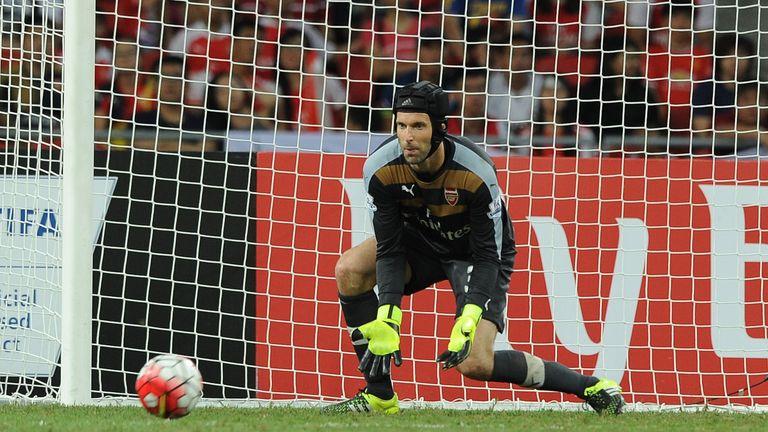 Petr Cech expected to start the season as Arsenal No 1 goalkeeper