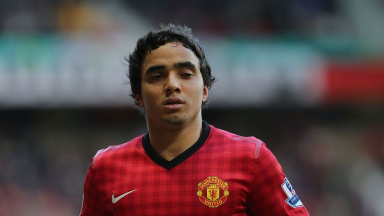 Rafael Manchester United at Old Trafford on March 10, 2013 in Manchester, England.
