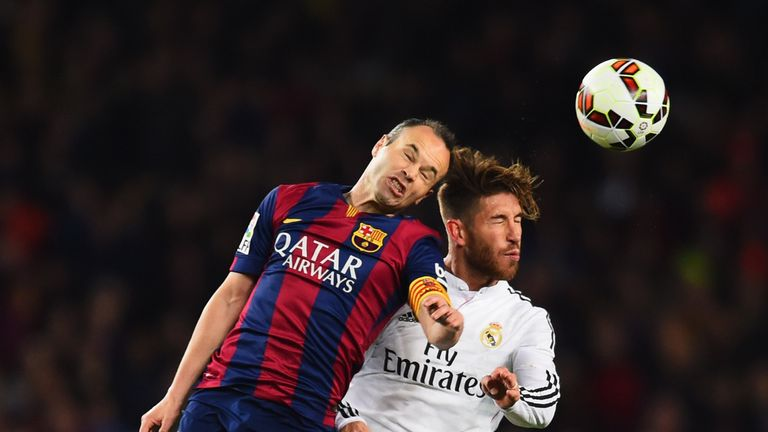 Andres Iniesta says he doesn't expect Real Madrid to let Ramos go