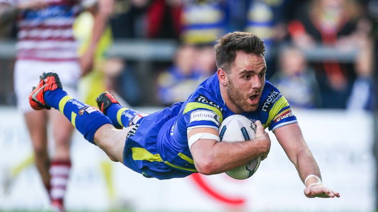 Warrington half-back Richie Myler will move to France next year