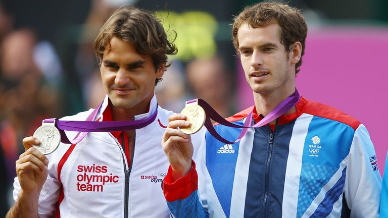 Murray beat Federer at the Olympics