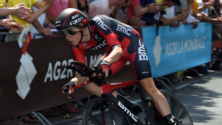 Rohan Dennis won stage one and took the Tour de France lead