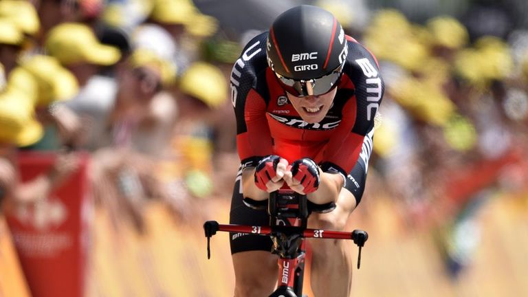 Rohan Dennis produced the fastest ever speed in a Tour time trial