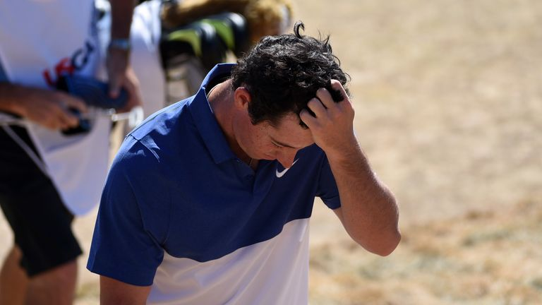 Rory McIlroy: Set to miss next week's Open