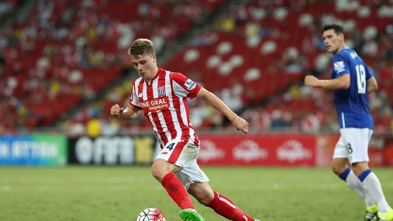 Ollie Shenton has been with Stoke City since 2004