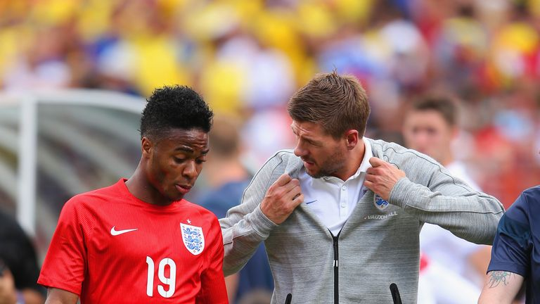 Gerrard has been critical of Sterling's absence from training