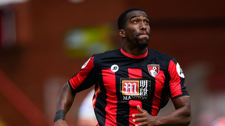 EXETER, ENGLAND - JULY 18:  AFC Bournemouth defender Sylvain Distin in action during the Pre season friendly match between Exeter City and AFC Bournemouth