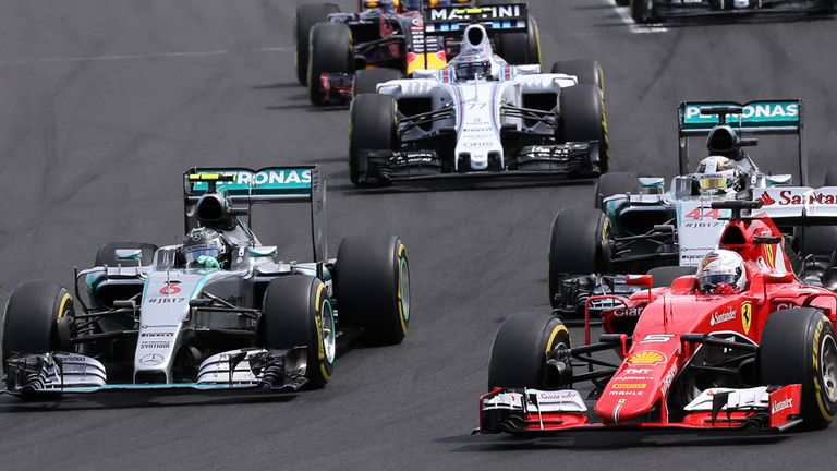 It was a repeat of Silverstone for Mercedes at the start in Budapest