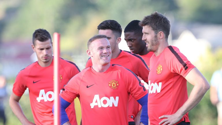 Louis van Gaal has been full of praise for captain Rooney in the United States