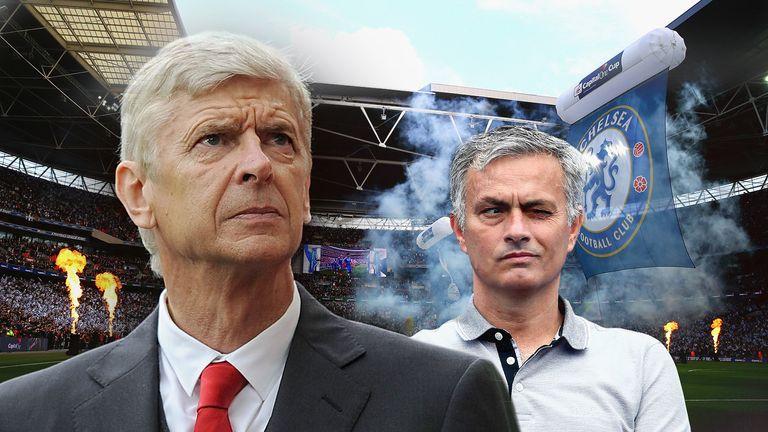 Arsene Wenger faces old foe Jose Mourinho in Sunday's Community Shield