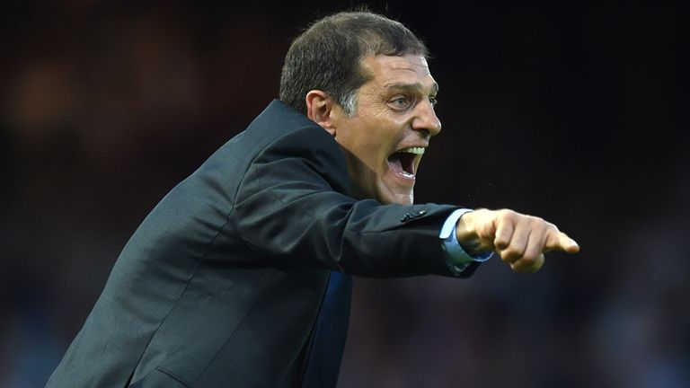 West Ham United Coach Slaven Bilic on the touchline during the Europa League Second Qualifying Round, First Leg, at Upton Park, London.