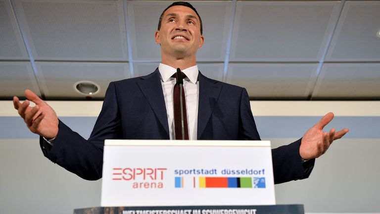 Wladimir Klitschko criticised his fellow world champion's choice of opponents