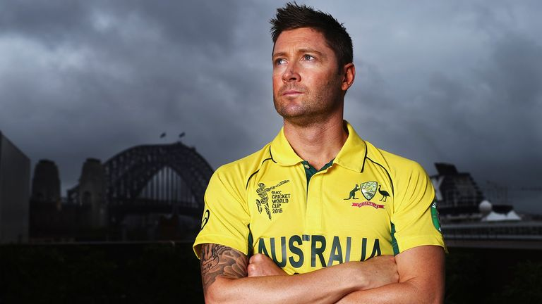 Michael Clarke says he would consider returning as Australia captain