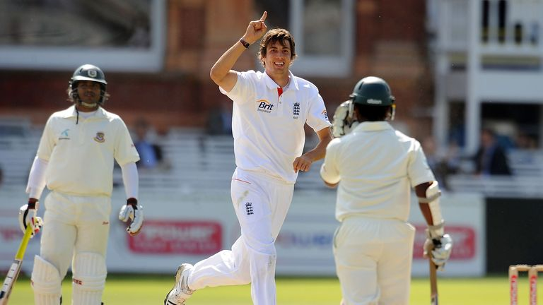 Steven Finn was firing in England's Test series win over Bangladesh in 2010